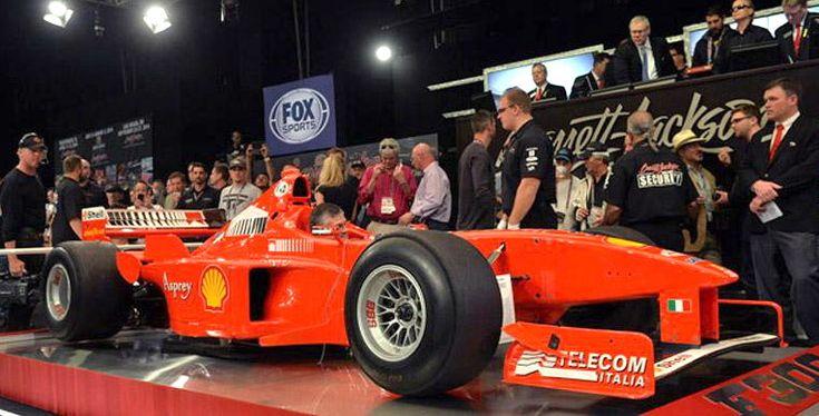 Mobil Balap F1 Tunggangan Schumacher Terjual Rp 20 miliar - http://www.iotomotif.com/mobil-balap-f1-tunggangan-schumacher-terjual-rp-20-miliar/19211 #BarretJackson, #Ferrari, #FerrariF300Schumi, #MichaelSchumacher, #MobilBalapF1Schumacher, #Schumi