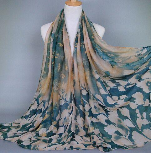 printed viscose scarf shawl soft autumn large scarf shawl 180cm X 100cm  fashionable 10pcs/lot free ship