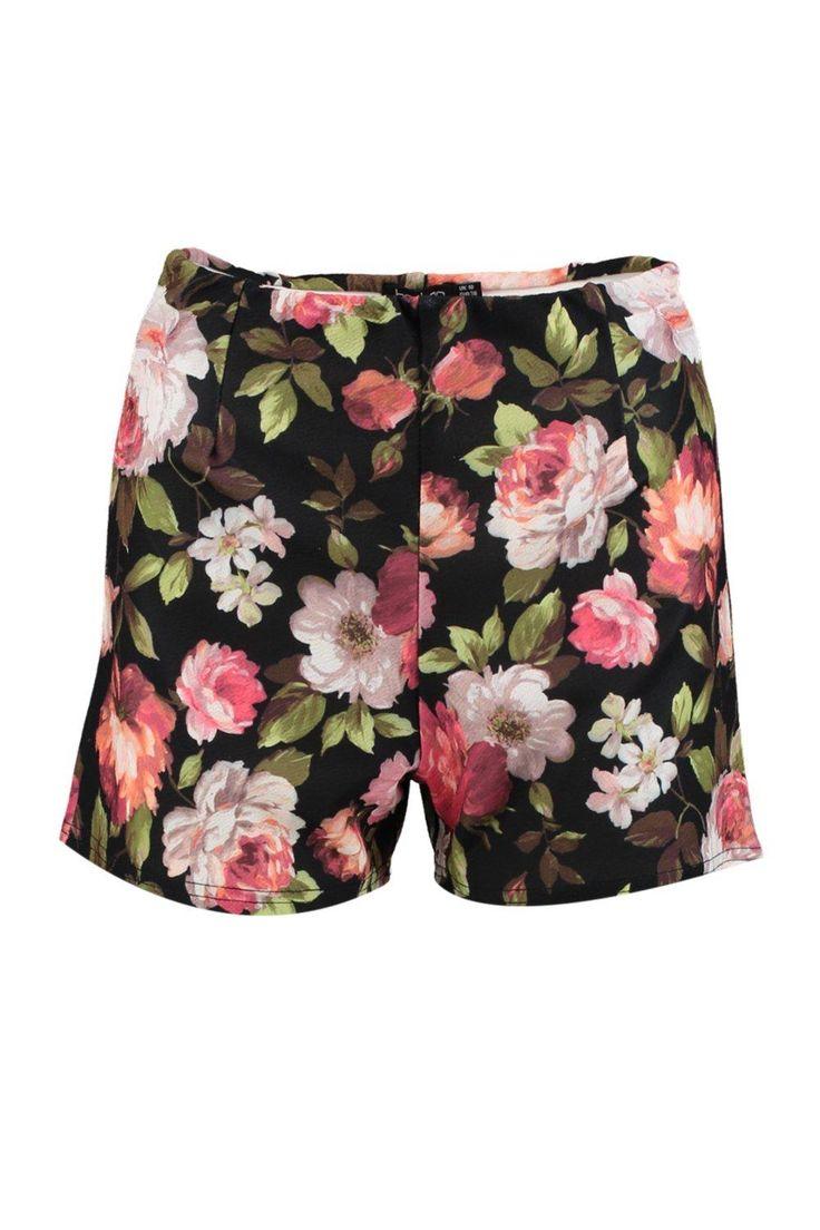 Anni Floral Smart Shorts