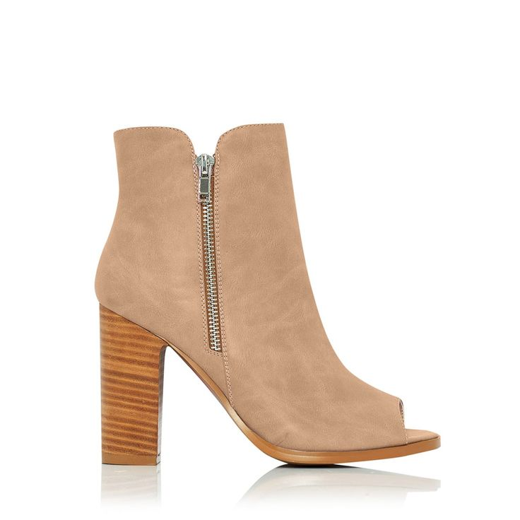 BILLINI - Mora Booties -  Light Camel