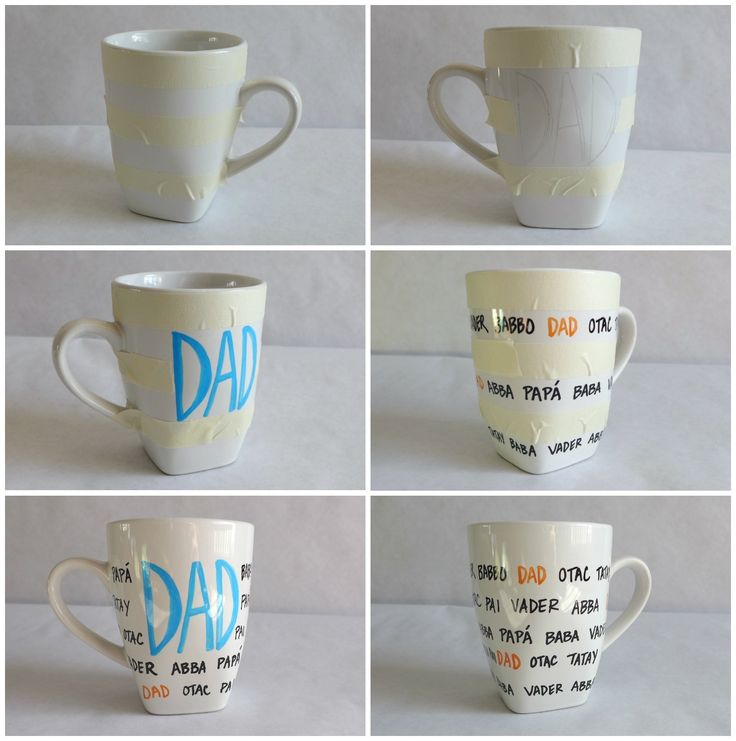 Better Than DIY Sharpie Mugs! This Tutorial Uses Permanent