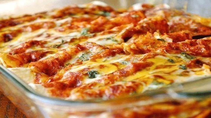 Нежная пицца без теста