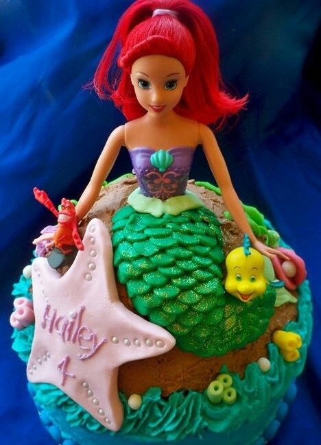 25 best Mermaid cake ideas images on Pinterest Birthdays Little
