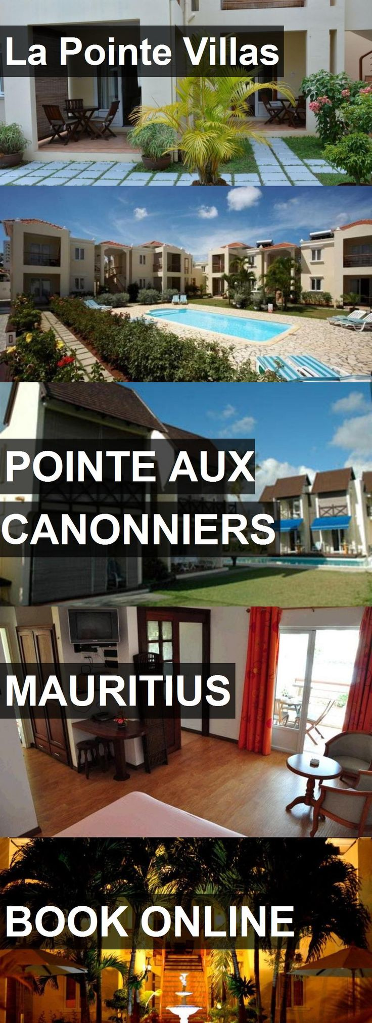 Hotel La Pointe Villas in Pointe aux Canonniers, Mauritius. For more information, photos, reviews and best prices please follow the link. #Mauritius #PointeauxCanonniers #travel #vacation #hotel
