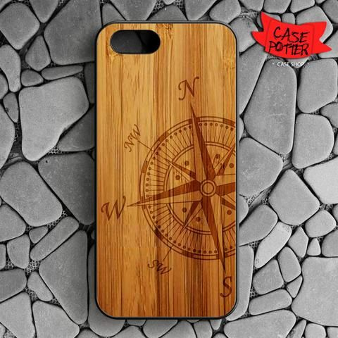 Compass iPhone SE Black Case