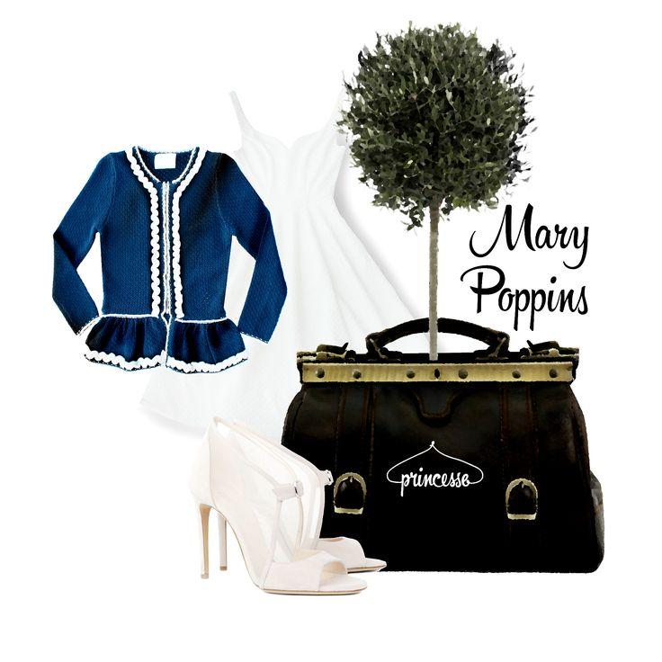 La frenesia delle metropoli porta ogni donna a dover sbrigare innumerevoli commissioni....da quelle piacevoli, come lo shopping di qualsiasi genere o specie; a quelle meno divertenti...Comunque il mantra dovrebbe essere uno....Borse comode e grandi! Mary Poppins insegna!!! tacchi a spillo e abitini glam, ma sempre con accessori capienti, altrimenti dove mettere la vostra ultima piantina? #princessemetropolitaine #springsummercollection #marypoppins #shopping