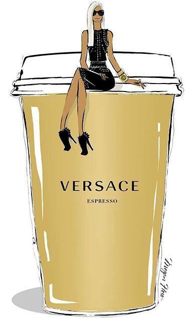 Versace ~ Megan Hess