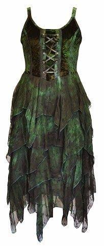 Faerie Goth   Community Post: 13 Ways For Goths To Wear Green