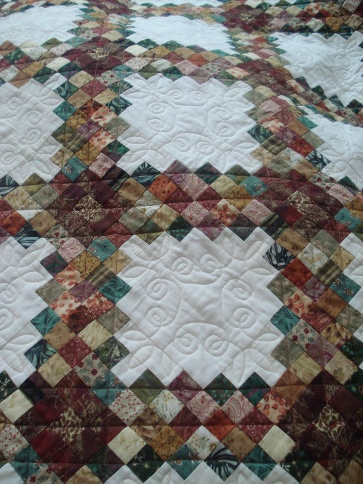 triple irish chain quilt - Google Search