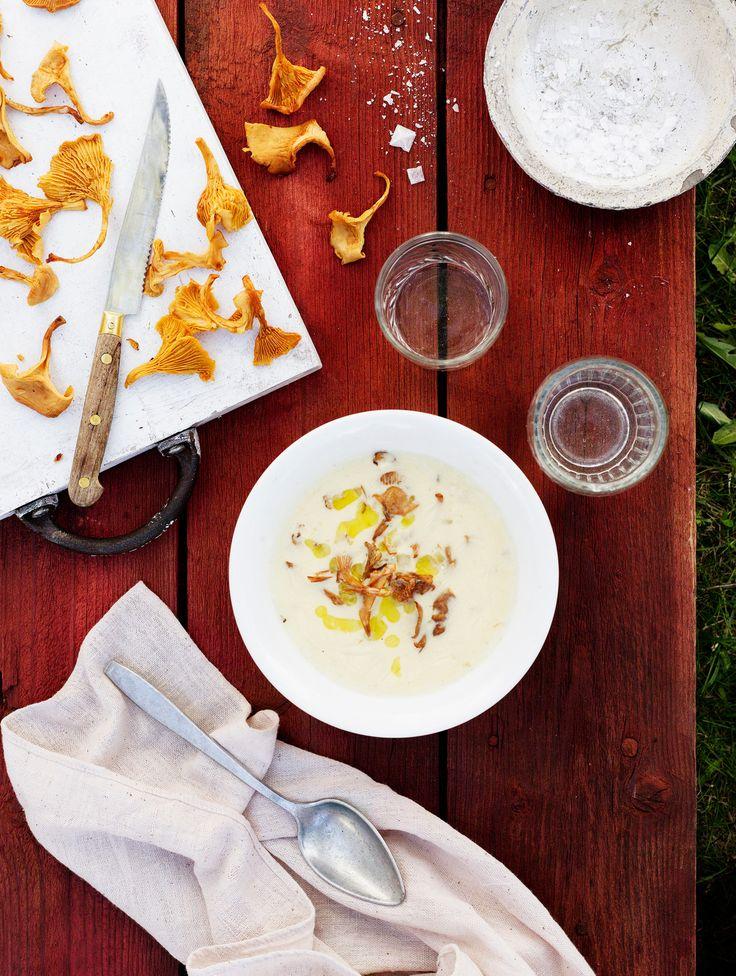 Kantarellikeitto   K-ruoka  #kanttarelli #sienet