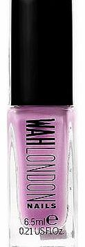 WAH London Mating Surfaces Nail Polish 6.5ml 36 Advantage card points. The WAH LONDON nail polishes have all been individually inspired, referenced and briefed to create a spectrum of fashion forward styles. FREE Delivery on orders over 45 GBP. http://www.comparestoreprices.co.uk/nail-products/wah-london-mating-surfaces-nail-polish-6-5ml.asp