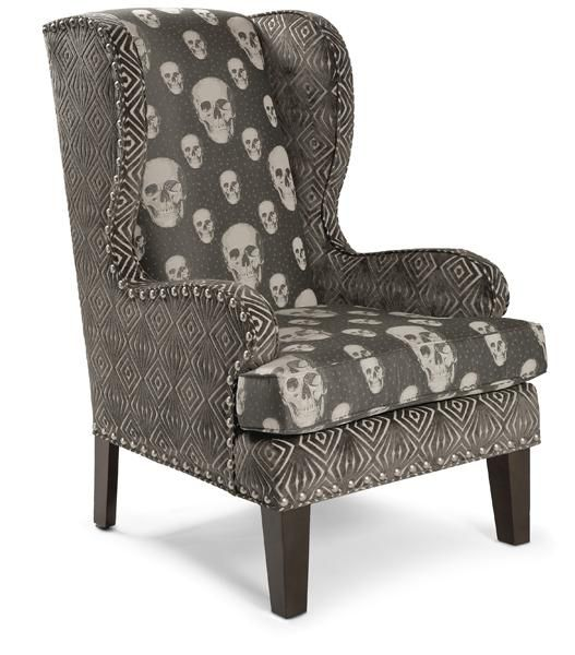 Regina Andrew upholstered furniture skull chair