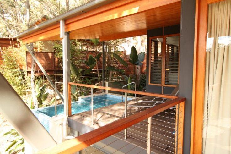 Ruffles Lodge - Treehouse Pool Villa - Gold Coast Hinterland Accommodation