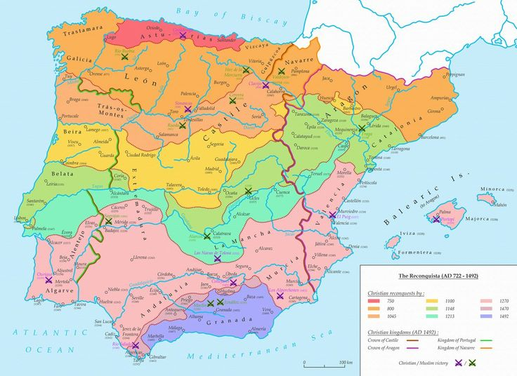 The Reconquista (AD 722 - 1492) by Undevicesimus on DeviantArt