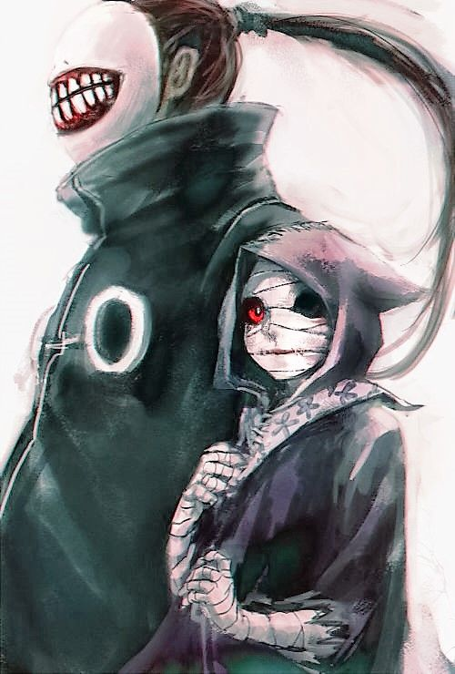 - Tokyo Ghoul - Eto and Noro