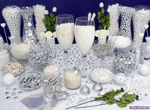 Silver Candy Buffet