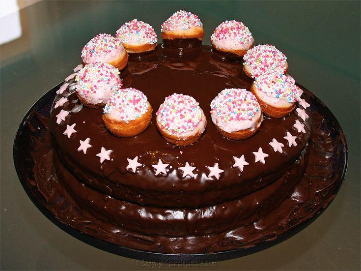 gâteau d'anniversaire - Purple Jumble
