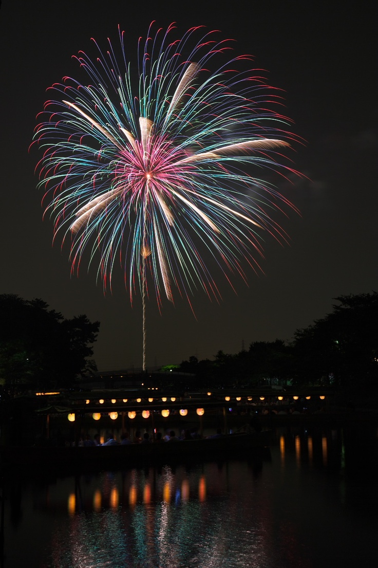 Japanese fire works