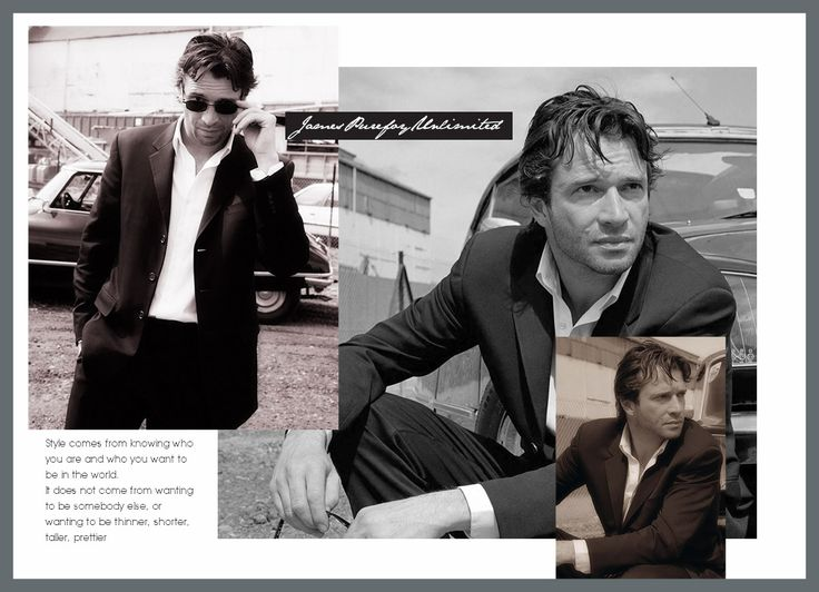 JAMES PUREFOY in Black & White...Sublime!