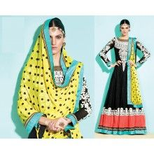 Ravishing Black Anarkali #trendz2014