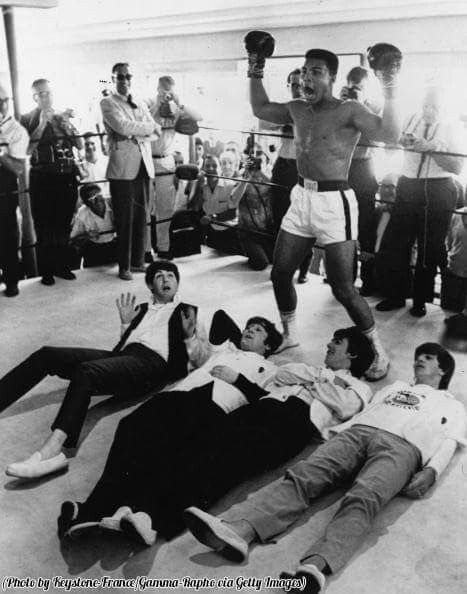 The Champ and The Beatles