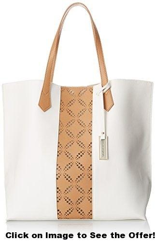 Urban Originals Take The Leap Shoulder Bag, White/Tan, One Size