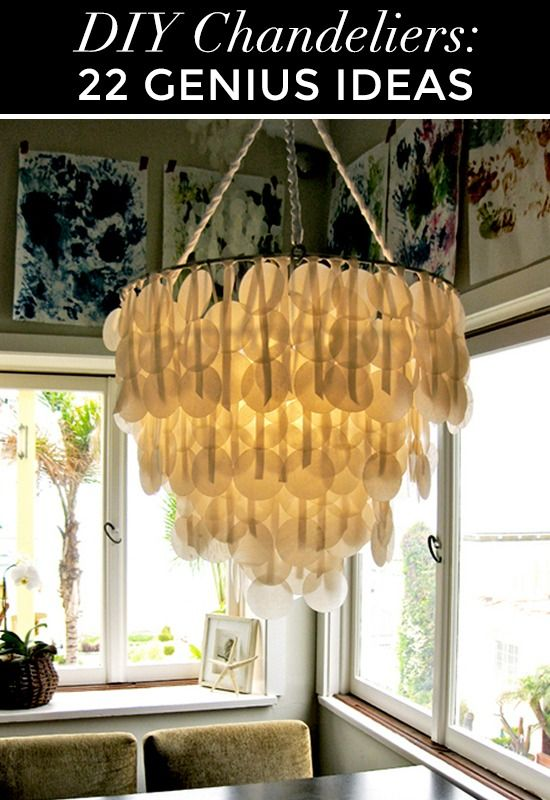 22 genius DIY chandelier ideas for decorating on a budget