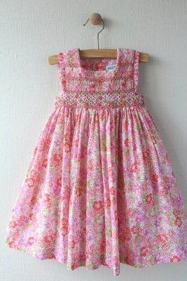 Luli Me Smocked Dress Size 18M. Retail Price $88.00, Our Price $29.99