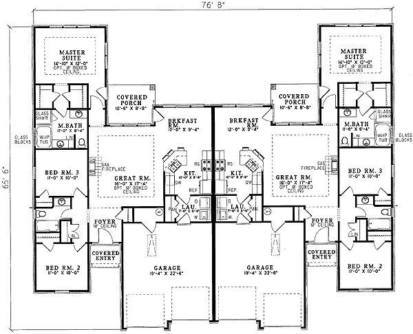 The 25 Best Duplex Floor Plans Ideas On Pinterest Duplex Plans