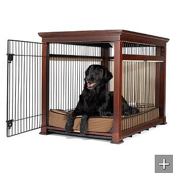 Wow wouldn't Cash be living the high life in this!   Luxury Pet Residence Dog Crate