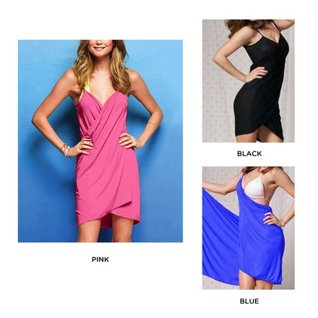 I found this amazing Bikini Wrap-Dress - Assorted Colors at nomorerack.com for 60% off. Sign up now and receive 10 dollars off your first purchase