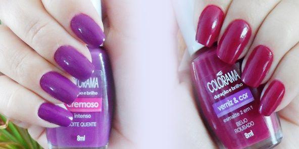 Make e Mais...: Duas cores de esmalte para o Dia dos Namorados!