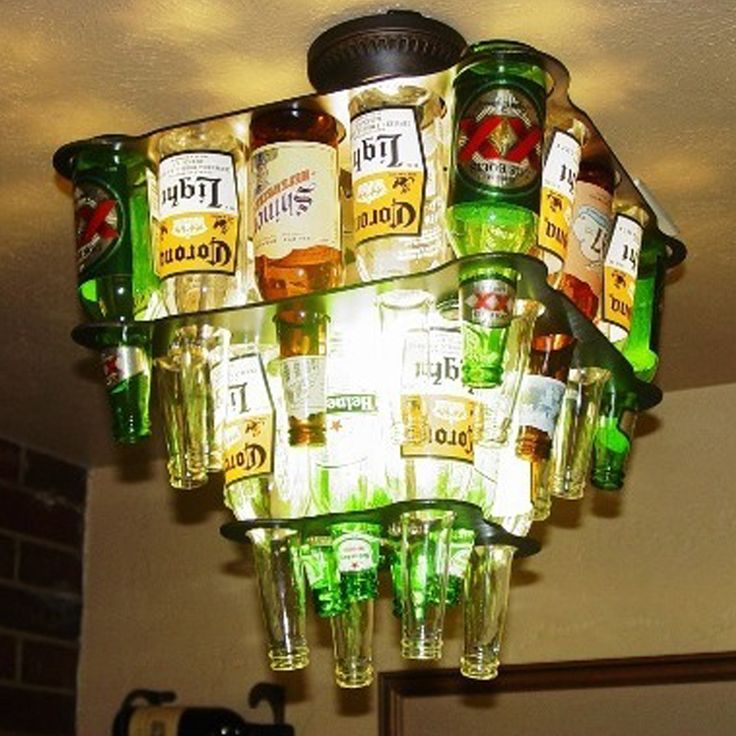 Recycle and experience the beauty of a beer bottle chandelier. Lighten up the mood and make every event spectacular. Be amazed by the unique shade of light each bottle gives out. #bartenders #bottles #bar #photooftheday #picoftheday #beer #fashion #barista #cheers #restaurant #happyhour #instadaily #selfie #music #foodporn #cocktailbar #happy #cocktailporn #exclusive #cocktails #cocktail #DIY