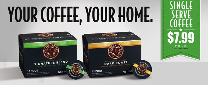 Your Coffee,Your Home.