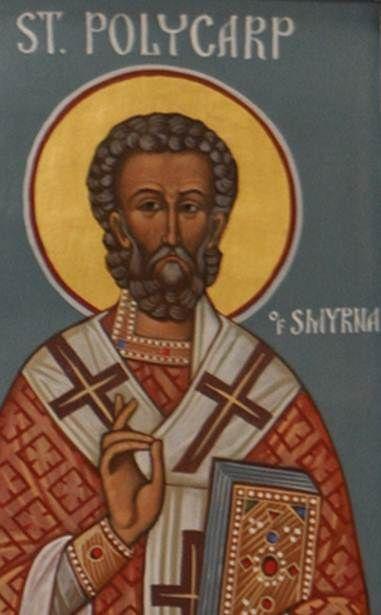 Happy Feast Day of St Polycarp - February 23 #pinterest At 86, Polycarp was led…