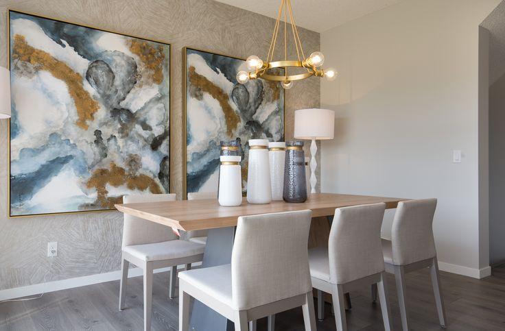 Very Modern Very Nice Dining Space