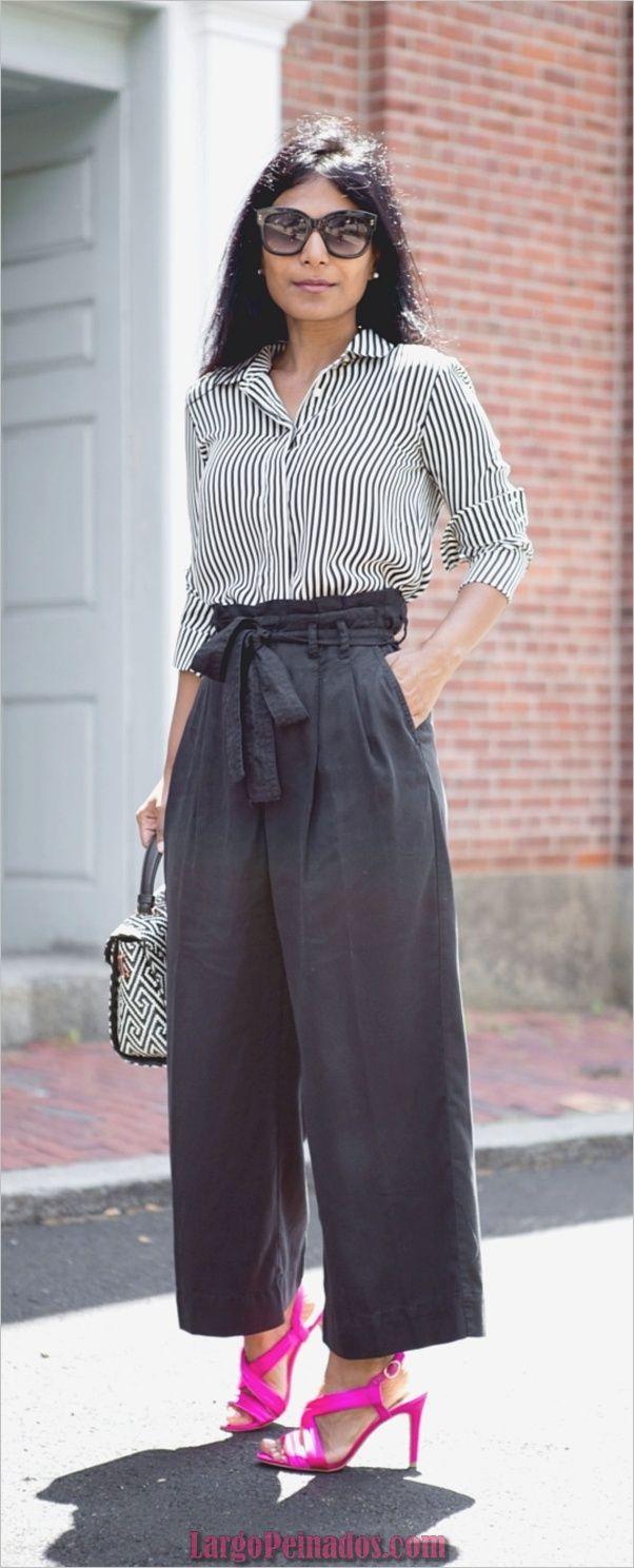 30 maneras elegantes de usar pantalones de bolsa de papel para el trabajo
