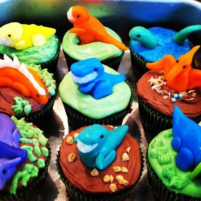 party dinosaur dinosaur stuff dinosaur baby birthday ideas cupcake ...