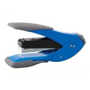 Grapadora Rexel Low Force 1/2 grapado plano azul