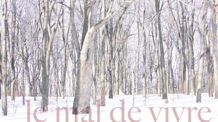 Le mal de vivre • Pierre Lapointe (Paris Tristesse)