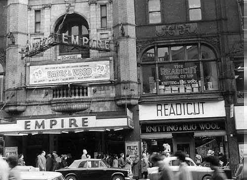 Leeds Empire Theatres, 1898-1961, Current site of Harvey Nichols.