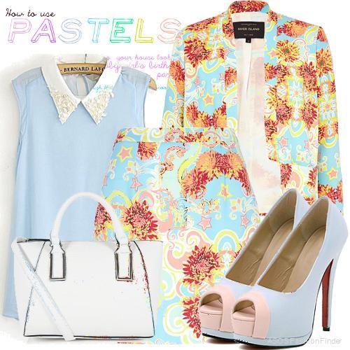 Pastels, Floral & 50's