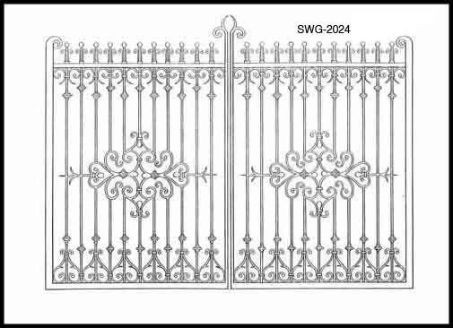Iron Gate Design Swg2024 Pakistan Pinterest Gate