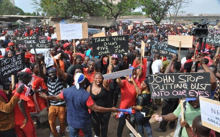 According to AIT news, the presidential candidate of the New Patriotic Party (NPP) for the 2016 elections in Ghana, Nana Addo-Dankwa Akufo-Addo yesterday led several thousands of party members and ...