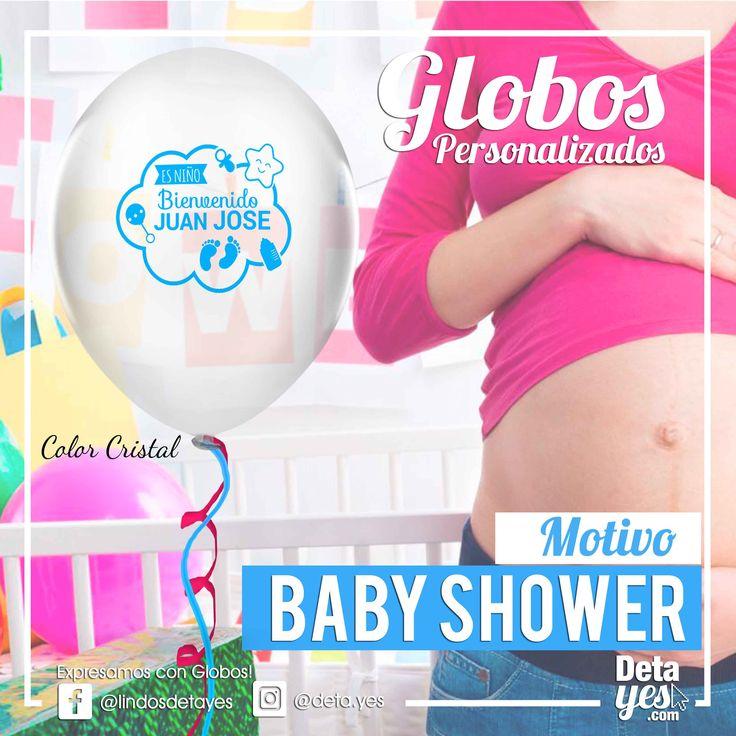 Globos Personalizados para decoración de Baby Shower, somos @deta_yes , Envíos a Toda Colombia, Pedidos 31856657519