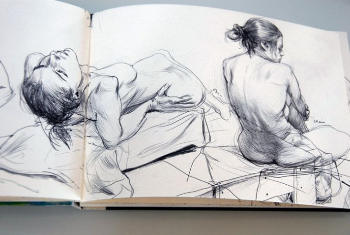 James Jean sketchbook