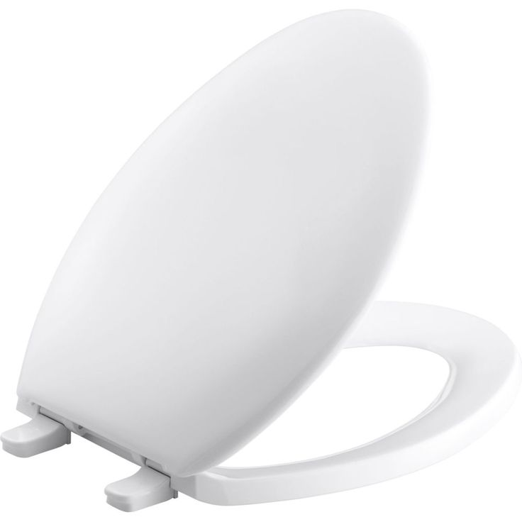 Kohler - K-4659-0 Bancroft White  Toilet Seats Elongated Bathroom Accessories  | eFaucets.com
