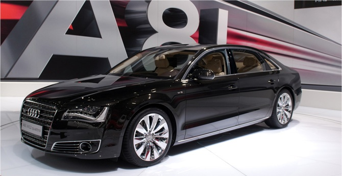 Technical specifications of Audi A8 a luxury sedan, and a 4 door full-size car.