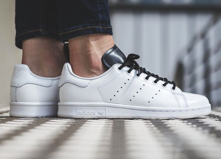Adidas Stan Smith - White/Black (by titolo)  Buy these at: Afew / Caliroots / Overkill / Find more shops