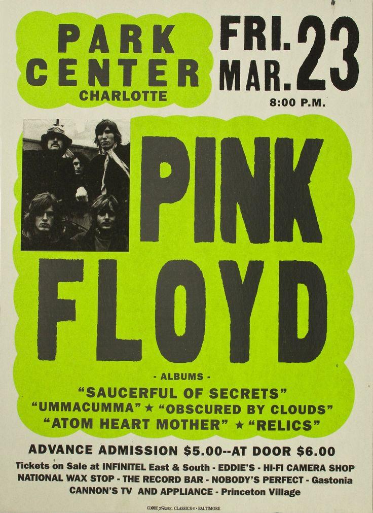 Rare Pink Floyd Posters | Pink Floyd Globe Poster Classic Screenprint by GlobePoster